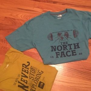 The North Face tee shirts